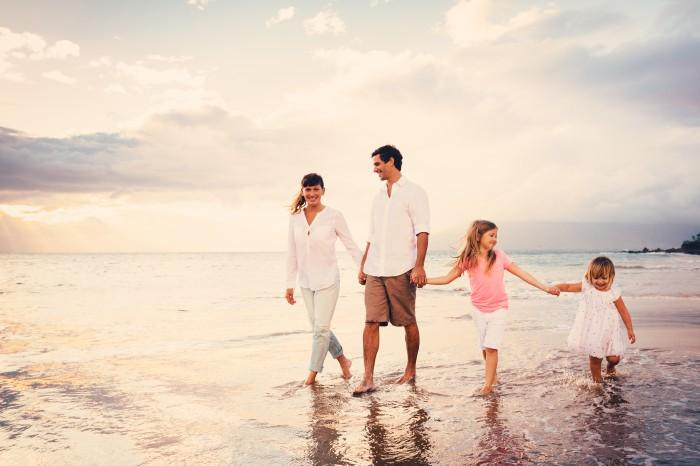 littoral méditerranéen en famille